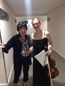 With Nobuko Imai
