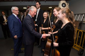 With His Royal Honor Prince Charles